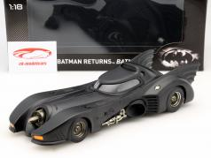 Batmobile out the Movie Batman Returns 1992 black 1:18 HotWheels