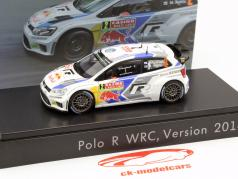 Volkswagen VW Polo R WRC #2 WRC 2014 Latvala, Anttila 1:43 Spark