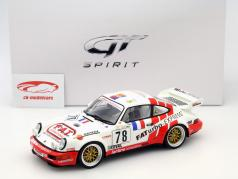 Porsche 911 Carrera RSR #78 2 ° GT classe 24h LeMans 1993 Pareja, Leconte, Thoisy 1:18 GT-SPIRIT