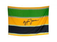 Ayrton Senna banner Sempre 140 x 100 cm