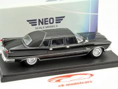 Imperial Crown Ghia Limousine Year 1958 black 1:43 Neo