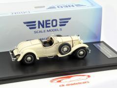 Mercedes-Benz 24/100 Roadster Year 1926 beige 1:43 Neo