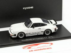 Porsche 911 Carrera 2.7 Year 1975 white 1:43 Kyosho
