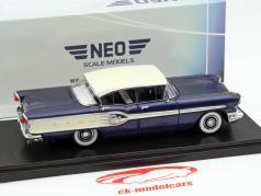 Pontiac Star Chief Sedan year 1958 dark blue 1:43 Neo