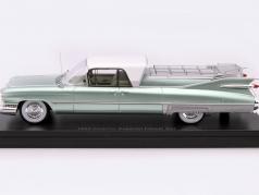 Cadillac Superior Flower Car year 1959 green / white 1:43 Neo