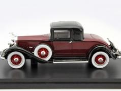 Packard 902 Standard Eight Coupe year 1932 dark red / black 1:43 Neo