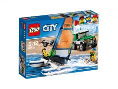 LEGO® City Geländewagen mit Katamaran