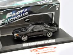 Nissan Skyline GT-R (R32) Fast and Furious 7 2015 black 1:43 Greenlight