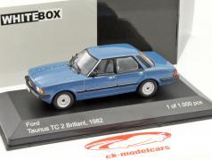 Ford Taunus TC 2 Brillant year 1982 blue 1:43 WhiteBox