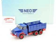 Henschel HS 3-14 6x6 blue / red 1:43 Neo