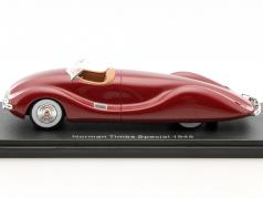 Norman Timbs Special year 1948 dark red metallic 1:43 Neo