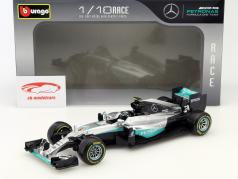 Nico Rosberg Mercedes F1 W07 Hybrid #6 champion du monde formule 1 2016 1:18 Bburago