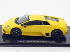 Lamborghini Murcielago LP 640 gelb 1:43 HotWheels Elite