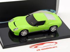 Lamborghini Miura Concept Car année de construction 2010 vert 1:43 HotWheels Elite