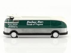 General Motors Futurliner Parade of Progress year 1941 dark green / white 1:43 Neo