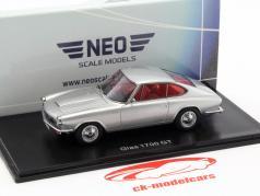 Glas 1700 GT silver metallic 1:43 Neo
