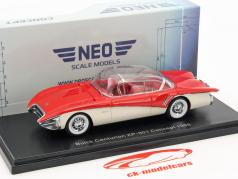 Buick Centurion XP-301 Concept year 1956 red / cream white 1:43 Neo