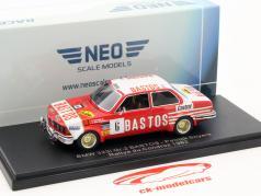 BMW E21 323i Gr.2 #6 Rallye du Condroz 1982 Snyers 1:43 Neo