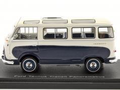 Ford Taunus transit panorama bus blue / White 1:43 Neo