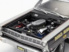 Ford Fairlane Georgia Shaker Drag Racer year 1967 black 1:18 GMP