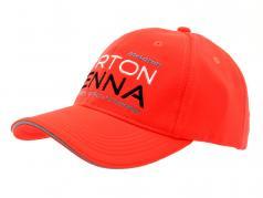 Ayrton Senna Cap #1 3 x mondo campione neon rosso