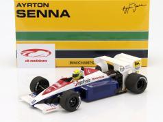 Ayrton Senna Toleman TG184 #19 Formel 1 1984 1:18 Minichamps