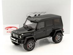 Mercedes-Benz G500 4x4 nero 1:18 GT-SPIRIT