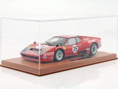 Ferrari 365 GT4/BB #75 24h LeMans 1977 Migault, Guitteny With Showcase 1:18 BBR