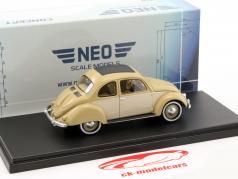 Volkswagen VW Stoll Coupe beige 1:43 Neo