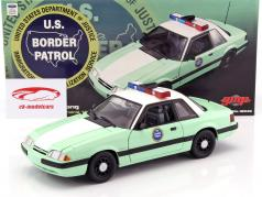 Ford Mustang United States Border Patrol SSP 1988 1:18 GMP