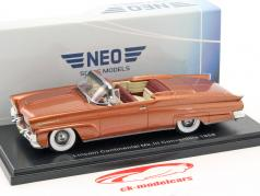 Lincoln Continental MK III Convertible year 1958 gold 1:43 Neo