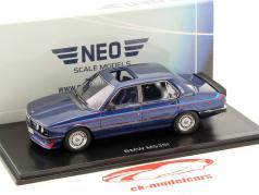 BMW M535i (E12) blue metallic 1:43 Neo