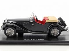 MG TF 1500 RHD black 1:43 Neo