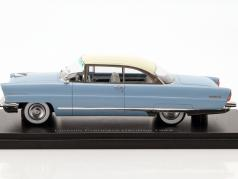 Lincoln Premiere Hardtop year 1956 Light Blue / white 1:43 Neo