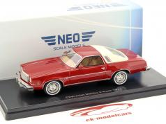 Chevrolet Malibu 2-door year 1974 red 1:43 Neo