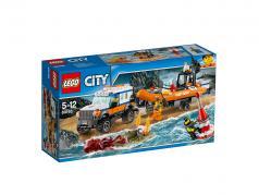 LEGO® City Geländewagen mit Rettungsboot