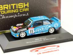 Will Hoy BMW M3 (E30) #11 BTCC champion 1991 1:43 Atlas