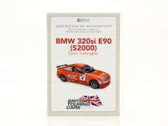 Colin Turkington BMW 320si (E90) #4 BTCC champion 2009 1:43 Atlas