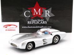 Mercedes-Benz W196 Plain Body Version 1954 silver 1:18 CMR