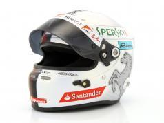Sebastian Vettel Ferrari SF70H formule 1 2017 casque 1:2 Arai