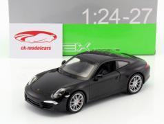 Porsche 911 (991) Carrera S black 1:24 Welly