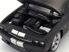 Dodge Challenger SRT year 2013 mat black 1:24 Welly