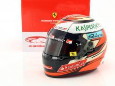 Kimi Räikkönen Ferrari SF70H formula 1 2017 helmet 1:2 Bell