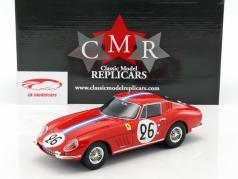 Ferrari 275 GTB #26 24h LeMans 1966 Biscaldi, de Bourbon-Parme 1:18 CMR