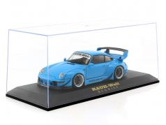 Showcase RAUH-Edition for model cars in the scale 1:18 black AUTOart
