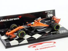 Fernando Alonso McLaren MCL32 #14 China GP formule 1 2017 1:43 Minichamps