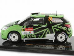 Citroen DS3 R3 #27 Rally Portugal WRC 2011 Hunt / Mcphee 1:43 Ixo