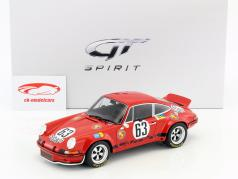 Porsche 911 Carrera RSR #63 24h LeMans 1973 Loos, Barth 1:18 GT-SPIRIT