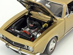 Chevrolet Camaro Z28 year 1967 gold metallic 1:18 GMP