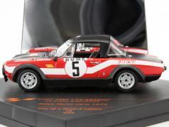 Fiat 124 Abarth #5 Rallye Monte Carlo 1973 Pinto, Bernacchini 1:43 Vitesse